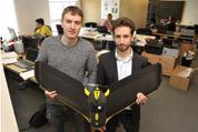 Corentin Chéron (à gauche) et Florent  Mainfroy, deux des trois cofondateurs d'Airinov. © Airinov
