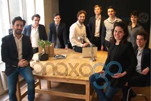 L'équipe d'Anaxago au complet. © Anaxago