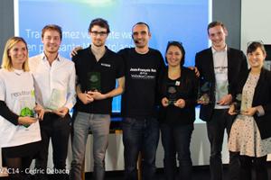 Les lauréats des W2C Awards 2014. © Cédric Debacq