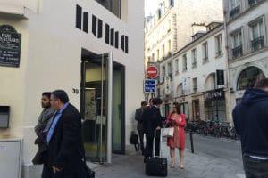 Le NUMA se situe au 39 rue du Caire à Paris (2è). © Charlie Perreau