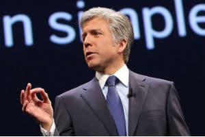 Bill McDermot, PDG de SAP. © DR