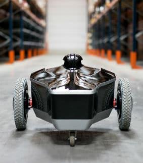 """Le robot """"e-vigilante"""". © EOS Innovation"""
