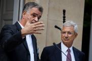 Jamal Labed, président de l'AFDEL et Claude Bartolone, président de l'Assemblée nationale, le 7 juillet - © AFDEL