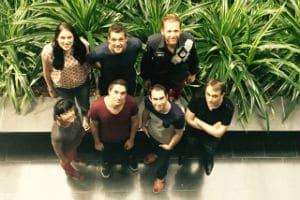 L'équipe de Peoplbrain au complet. © Peoplbrain