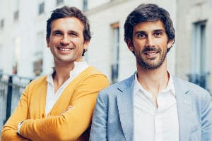 Etienne Morin (à gauche) et Antoine Régis, fondateurs de ChicTypes. © Nastassia Brame