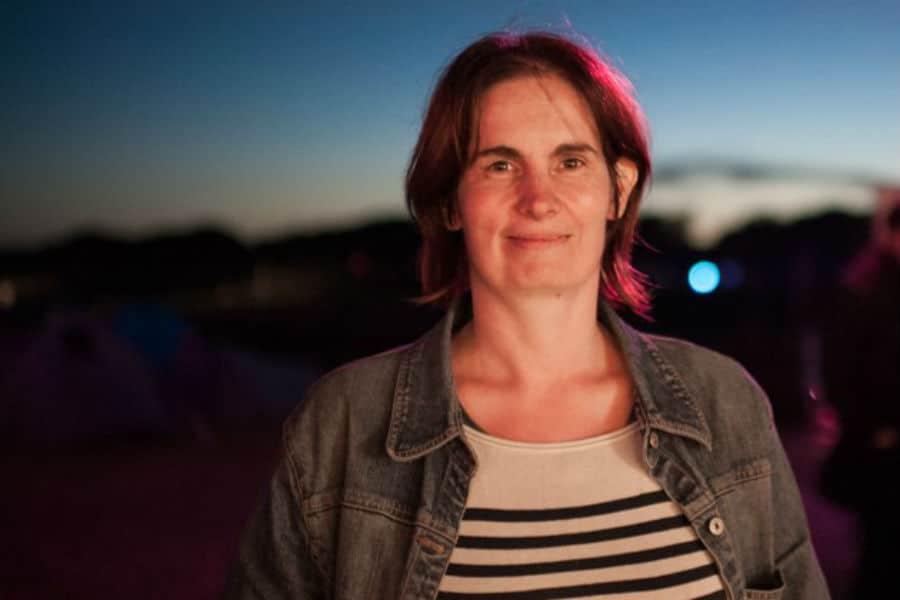 Emmanuelle Roux, fondatrice du FacLab de Cergy-Pontoise. © Ophelia Noor