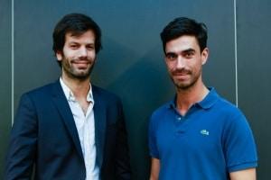 Samuel Cohen à gauche et Arthur Bard à droite © HaOui Bertrand Guiton