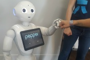 SoftBank Robotics Pepper credit Chad Garrison