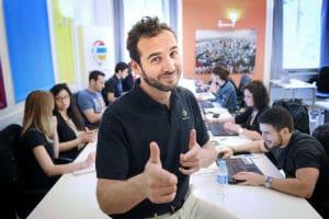 Serge Duriavig, fondateur de la plateforme NightSwapping. © NightSwapping