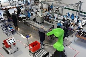 La ligne pilote par procédé est une ligne de fabrication de bonbons