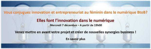 « Elles font l'innovation dans le numérique » Grande soirée du Club des Partenaires IT