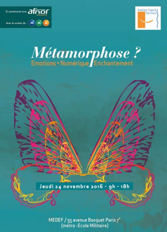 """Rencontre """"Métamorphose ? Emotions Numérique Enchantement"""