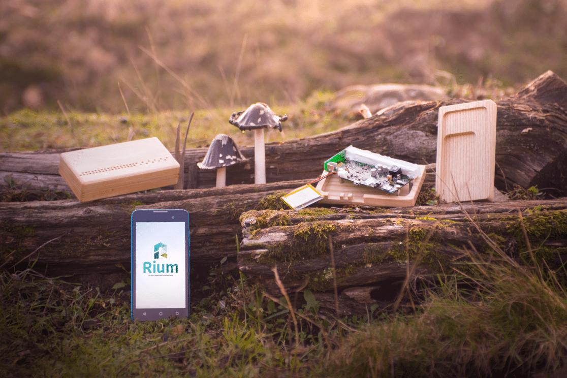 Rium est fabriqué en France : la carte électronique à Angoulême et le boîtier à Niort. ©