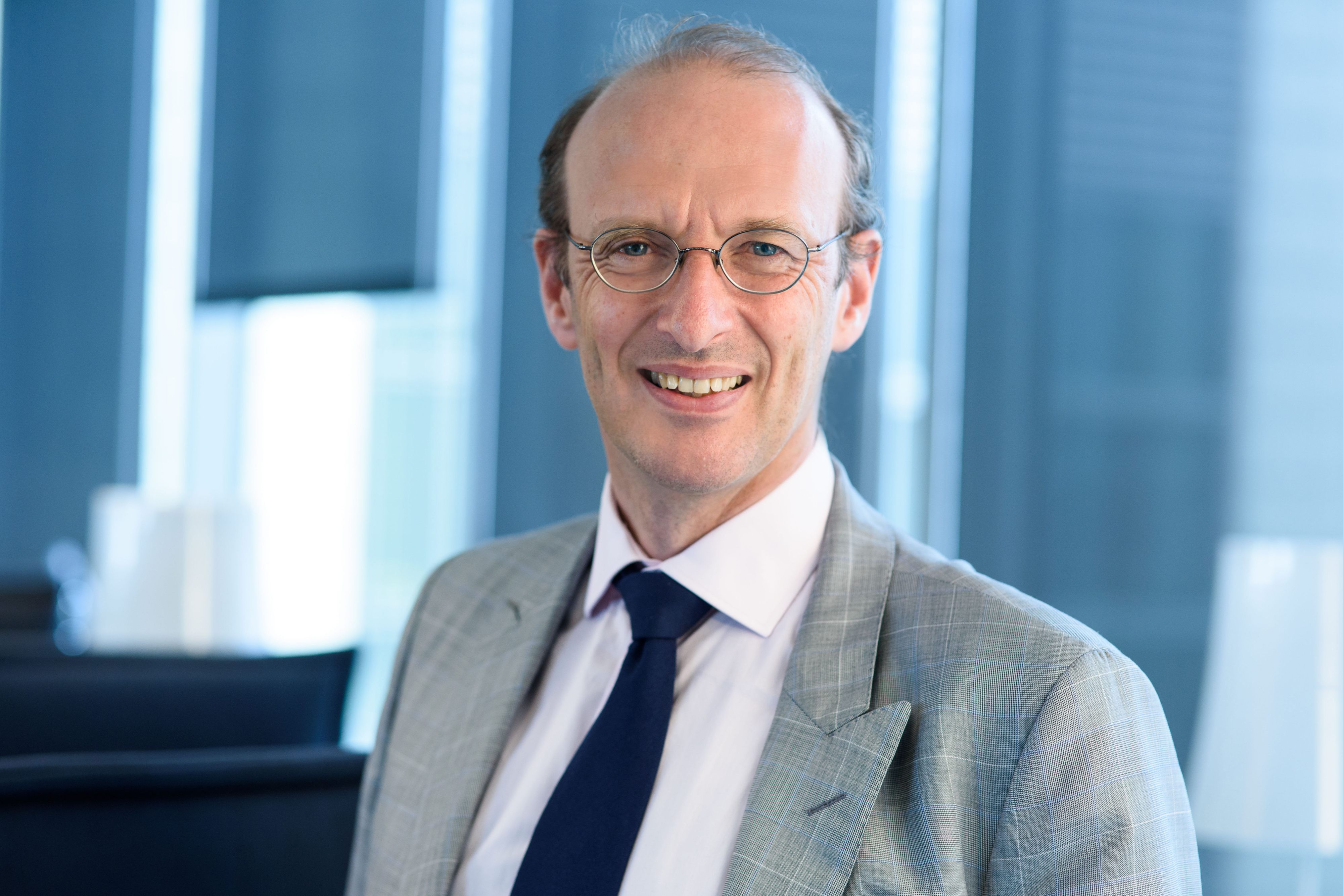 Hugues Sévérac est directeur de l'innovation d'Aviva France depuis février 2015. © Aviva France