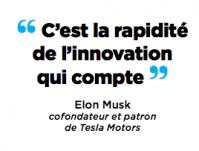 C'est la rapidité d'innovation qui compte