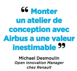 Monter un atelier de conception avec Airbus a une valeur inestimable