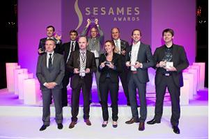Les gagnants des Trophées Sésames 2014. © Cartes Secure Connexions.