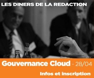 Prochain diner de larédaction Alliancy le 28/04 sur le Cloud