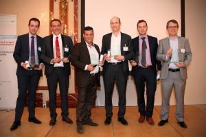 Les lauréats des trophées de l'IT Innovation Forum