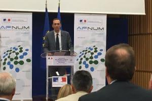 Georges Karam, président de l'AFNUM. © Charlie Perreau
