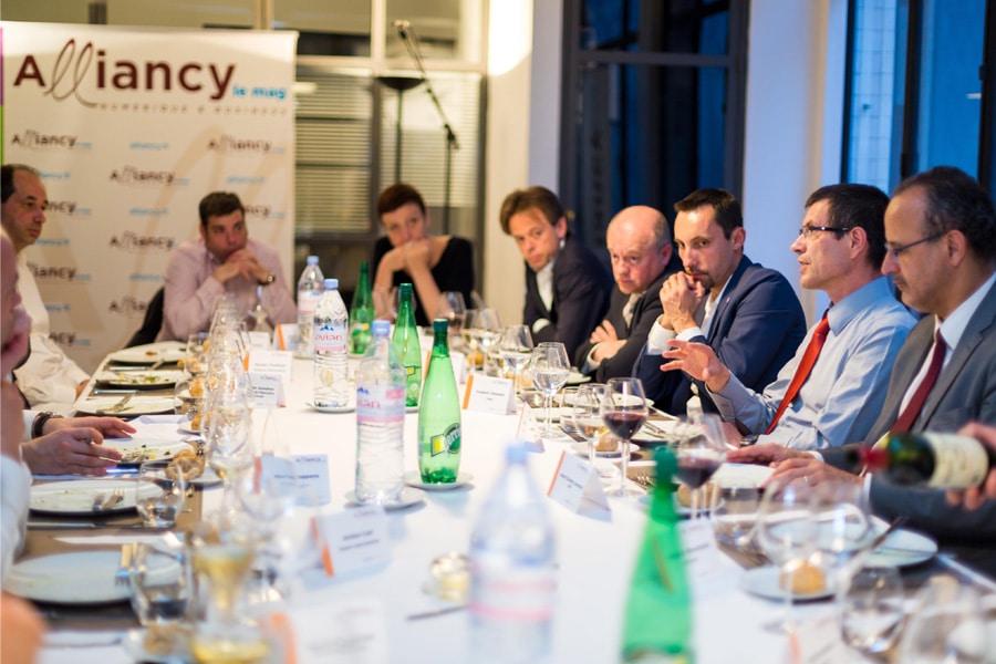 Diner de la rédaction Alliancy Gouvernance Cloud