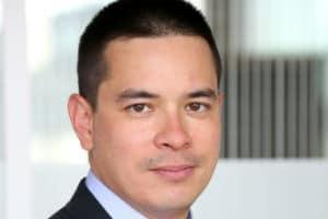 Aymeril Hoang, directeur de l'Innovation du groupe Société générale. © Société Générale