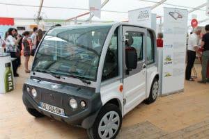France Craft a créé un véhicule qui peut recevoir l'ensemble des technologies de communication. © Charlie Perreau