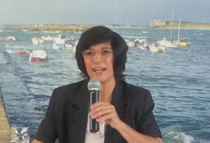 Florence Mangin, coordinatrice cybersécurité au Ministère des affaires étrangères lors de sa participation au CyberCercle du 1er juillet 2015.  © Alliancy