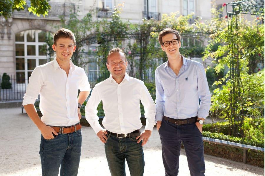 Les fondateurs de Jogg.in. ©Katie Donnelly Photography