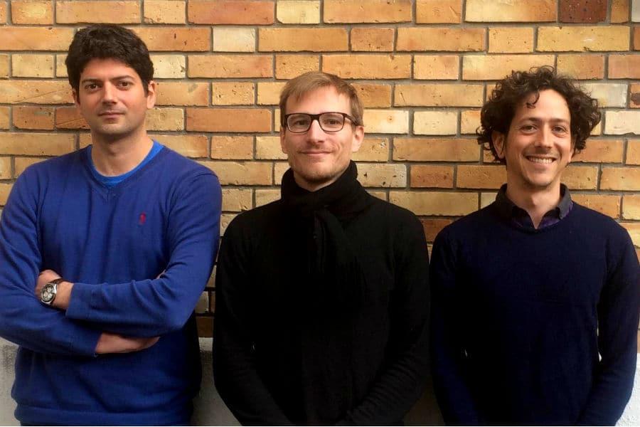 De gauche à droite : Charles Chevalier (CTO) Julien Venray (COO) Emmanuel Witvoet (CEO). © Mojjo