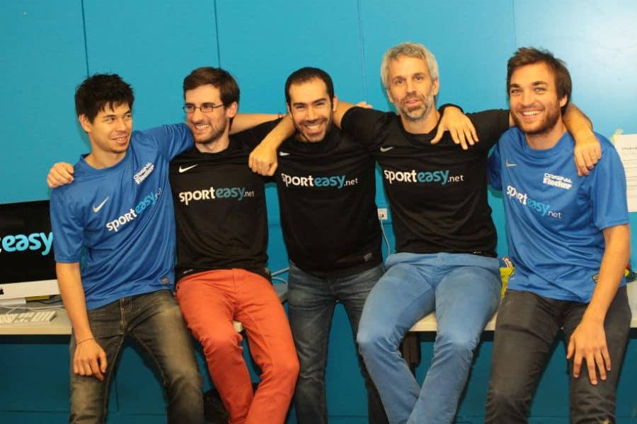 L'équipe de SportEasy. © SportEasy
