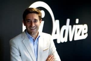 Julien Hervouët, CEO et cofondateur d'iAdvize. © iAdvize