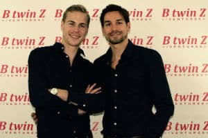 Didier (à gauche) et Bertand Fredenucci, fondateurs de Btwinz. © BtwinZ