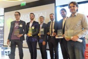 Les lauréats de la 8e édition de l'IT Innovation Forum. © IT Innovation Forum