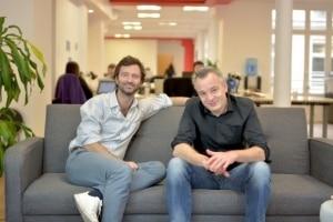 Marc Rouvier (gauche) et Nicolas Woirhaye (droit) co-fondateurs © IKO System