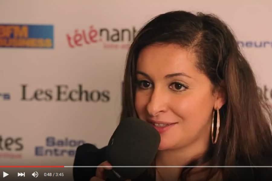 Najette Fellache, cofondatrice de Speach.me. @ Capture d'écran chaîne Youtube Salon des entrepreneurs