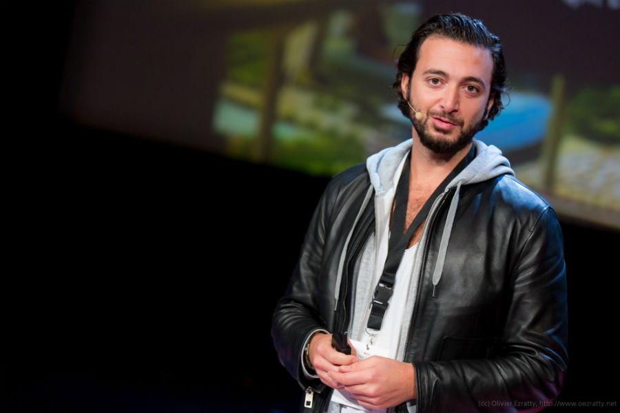 Rand Hindi, cofondateur de Snips. © Flickr CC Olivier Ezratty pour TEDxParis