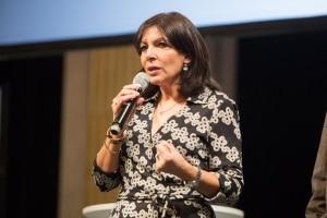 Anne Hidalgo lors du discours d'ouverture © S. Robichon, H.Garat, JB. Gurliat