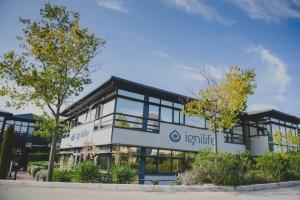 Locaux d'Ignilife au sein parc scientifique et technologique de Sophia Antipolis