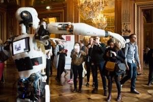 Avec son robot la start-up Inmoov a fait sensation © S. Robichon, H.Garat, JB. Gurliat