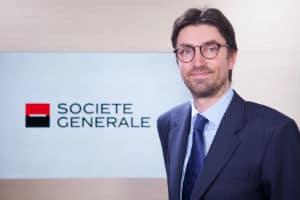 Alain Fischer, CDO du pôle de Banque de Grande Clientèle et Solutions Investisseurs de la Société générale. © La Société générale