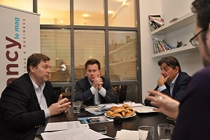 marché cybersécurité Edouard Jeanson, Nicolas Arpagian, Michel Van den Berghe,