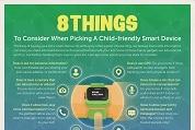 Infographie – 8 conseils pour assurer la sécurité de vos enfants face aux objets connectés