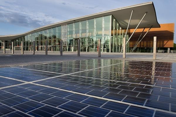Route solaire Wattway   © Joachim Bertrand / COLAS