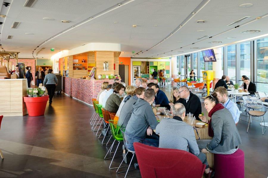 Diaporama : le campus de Microsoft France fait peau neuve
