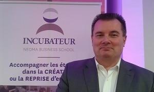 Denis Gallot, directeur des incubateurs et du campus de Rouen. ©Alliancy