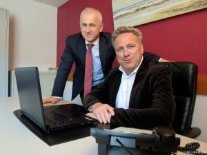 Aymeric de Villeneuve et Thierry Pélabon, directeurs associés de PebsCo ©Pebsco