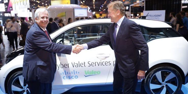 Alliance Valeo et Cisco ©Viva Technology