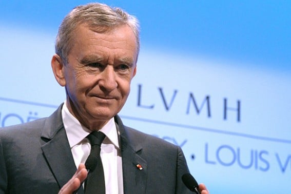 Benard Arnault, PDG de LVMH ©LVMH