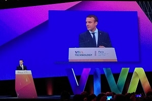 Emmanuel Macron à Vivatech le 15 juin 2017